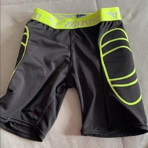mizuno women's softball sliding shorts